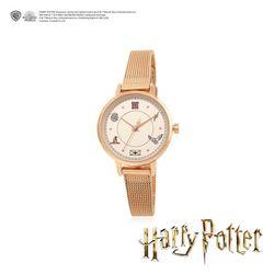 [중복상품] 해리포터 호그와트 로즈골드 메쉬 시계 OTWK19C11TPP