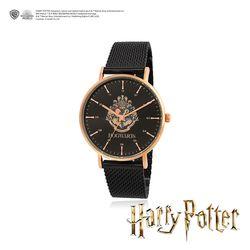 해리포터 호그와트 엠블럼 블랙 남성 메쉬 시계 OTMK19C01TPB