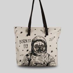 [토트백] Pug the Astronaut