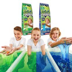 액체괴물 목욕놀이 슬라임 플레이