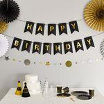 글리터 생일파티가랜드 블랙