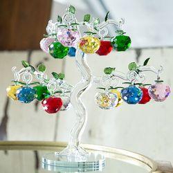 052210 사과나무 유리 장식품 (중)