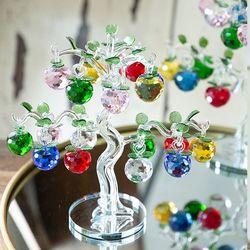 052210 사과나무 유리 장식품 (대)
