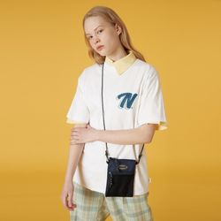 Double N tshirt-white