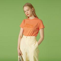 Tilde logo tshirt-orange