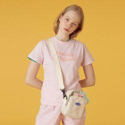 Tilde logo tshirt-pink