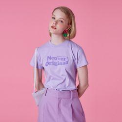 Tilde logo tshirt-purple