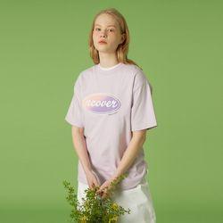 Original gradation tshirt-light purple