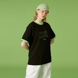 NLF layout ringer tee-black
