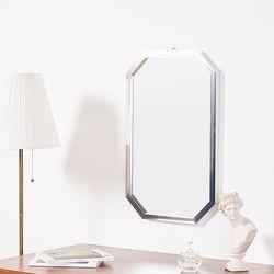 리아 메탈 팔각 거울 470