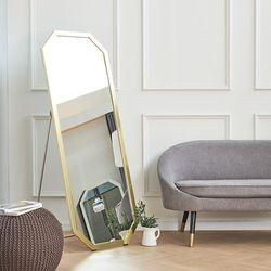 리아 팔각 스탠드 전신 거울 650