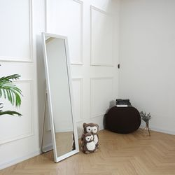 리아 트라이앵글 슬림 스탠드 거울