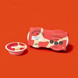 눈건강에 좋은 포켓밀 습식 사료 소고기 1팩(4개입)