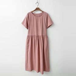 Margot Cotton Long Dress