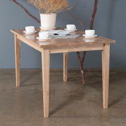 호칸 원목 식탁 일자사선 800x1800