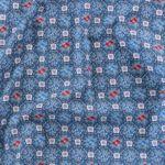 [Fabric] 블루 마조리카 린넨 Blue Majolica Linen
