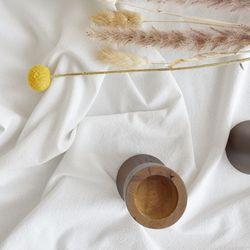 내추럴텍스처 화이트 식탁보 테이블보 배경천(4인)(170x110cm)