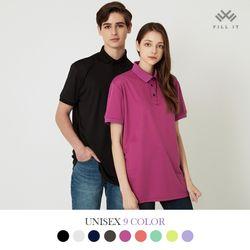시그니처 에코 쿨 카라 티셔츠
