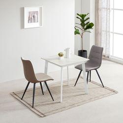 디센제네로이 2인 세라믹식탁 뉴더블사이드 의자 세트