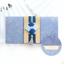 청빛조각보봉투 FB226-2