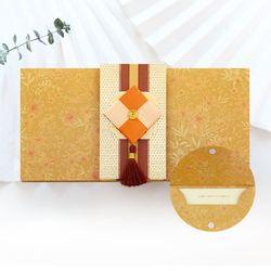 감색조각보봉투 FB226-5