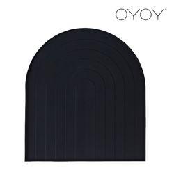 오이오이 식기 매트 블랙