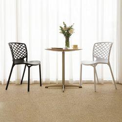바이킹 플라스틱 체어 인테리어 식탁 의자