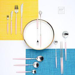 몽블랑 에펠 커트러리 골드색상 한식 양식세트
