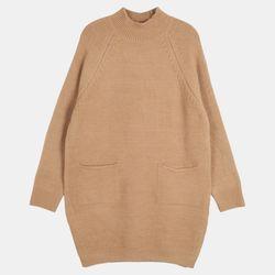 속포켓 롱 스웨터 DAKL20346
