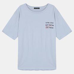 전사 딥 루즈핏 티셔츠 RBRA18S25