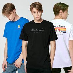 SS 남녀공용 기본핏반팔티셔츠 남자반팔티 기본티셔츠 14종