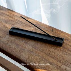 인센스 홀더 블랙 알루미늄 에디션 (한정)