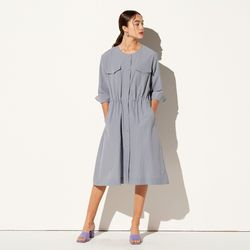 ROUND NECK SHIRTS ONE-PIECE GREY