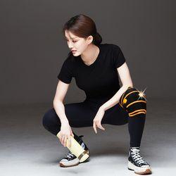 무릎보호대 종아리 허벅지 진동형 웨어러블 디바이스 충전 키트