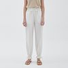 STRING POINT JOGGER PANTS IVORY