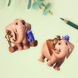 정글비트아들과딸 정글비트북마크 1종 옵션선택