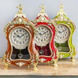 클래식 회전자 탁상 시계