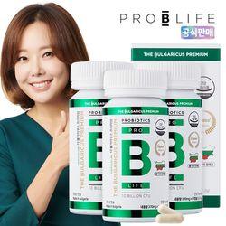 더 불가리쿠스 프리미엄 프로바이오틱스 유산균 3병 (180캡슐)