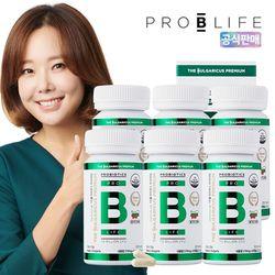 더 불가리쿠스 프리미엄 프로바이오틱스 유산균 6병 (360캡슐)