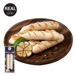 무항생제 닭가슴살 소시지 마늘 120gx50팩(6kg)