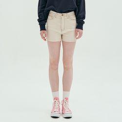BASIC SHORT PANTS-NATURAL