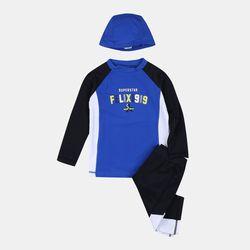 5부 레쉬가드 수영복 세트 FXSM19A01