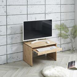 마로니 참죽원목 좌식컴퓨터책상600