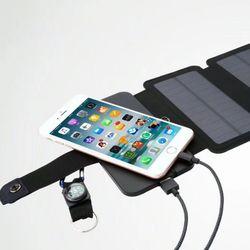 태양광 스마트폰 충전기 보조배터리