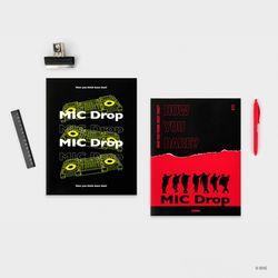 MIC Drop 잡지 노트