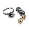 [라이온스틸] 에이콘 다이스 셋 주사위 열쇠고리 브라스 (DDOT)