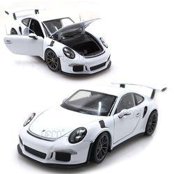 1:24 웰리 포르쉐 911 GT3 RS 미니카 다이캐스트