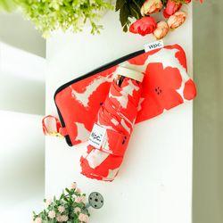 wpc우산 플라워 프린트 미니 5단 양산 겸 우산 762-127