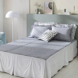 엠마 시어서커 여름 침대패드 S