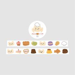 무우우 빵집 마스킹테이프